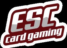 Logo ESC card gaming - solo scritta