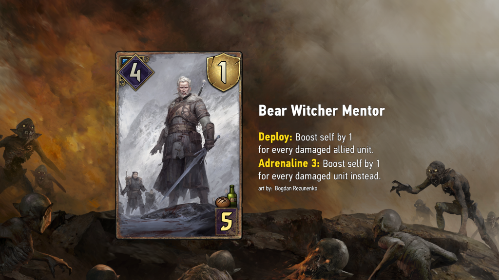 WayoftheWitcher Top 3 Carte bear witcher mentor