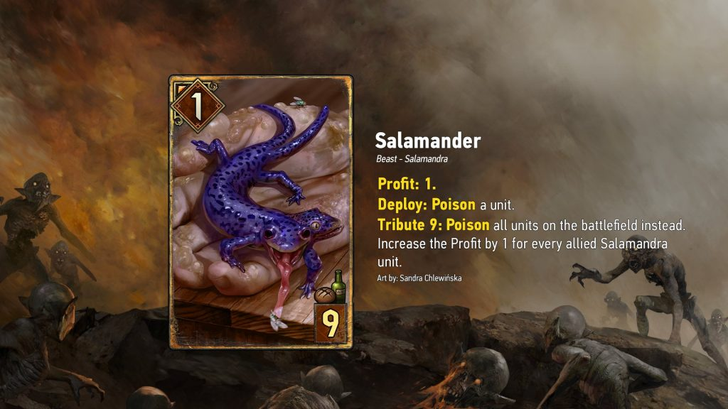 WayoftheWitcher Top 3 Carte salamander