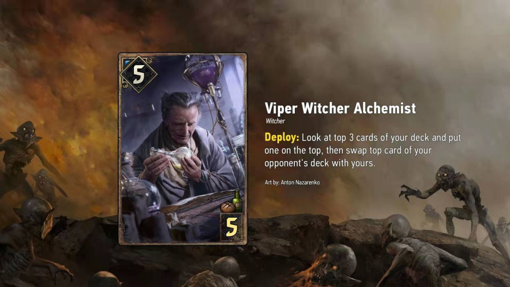 WayoftheWitcher Top 3 Carte alchemist